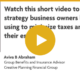 Tax Minimization and Estate Maximization for Business Owners